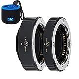 JJC Autofokus AF Makro Zwischenringe Set 11/16MM für Fujifilm Fuji X Mount X-Pro3 X-Pro2 X-A7 X-A5 X-T30 X-T3 X-T4 X-T200 X-T100 X-E3 Kameras Objektiv Zwischenringsatz