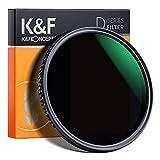 K&F Concept Variabler Graufilter 49mm Variable ND Filter ND8-2000 (3-11 Stop) Objektivfilter Neutral Dichte Graufilter
