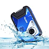 Rollei Sportsline 60 Plus - wasserdichte Digitalkamera mit 21 MP & Full HD Camcorder - Sports-Cam mit großem Display, 21 Motivprogrammen, robustes Case und einfacher Menüführung, perfekt für Kinder