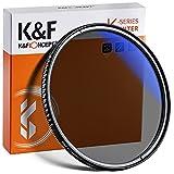 K&F Concept Pro 49mm Slim Zirkularer Polfilter Polarisationsfilter CPL Filter Cirkular Polfilter Optisches Glas & Aluminium für Foto-Kameraobjektive