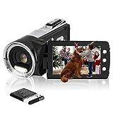 HG5162 Digitale Videokamera 1080P FHD Camcorder 12MP / 2,7' TFT LCD-Bildschirm / 270 Grad drehbarer Camcorder für Kinder/Anfänger/ältere Menschen