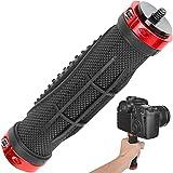 ChromLives Kameragriff Haltegriff Universalhalterung Kamera-Stabilisator mit 1/4'Außengewinde für Digitale Videokamera Camcorder Action Kamera LED Video Light Smartphone