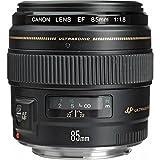 Canon Porträtobjektiv EF 85mm F1.8 USM für EOS (Festbrennweite, 58mm Filtergewinde, Autofokus), schwarz
