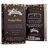 Fotospiel Party Geburtstag & Co | snaPmee Deluxe | 50 Fotoaufgaben | Partyspiel für Gäste | Kombinierbar mit Fotobox
