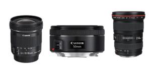 Beliebte Canon Objektive