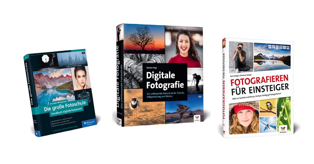 Lehrbücher zum Thema Fotografie lernen