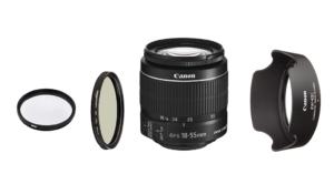 Canon EF-S 18-55mm F3.5-5.6 IS II Zubehör und Filter