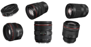 Canon Vollformat-Objektive