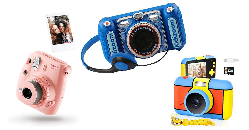 Digitalkameras, Camcorder und Sofortbildkameras für Kinder