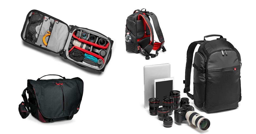 Manfrotto Kamerarucksäcke und Taschen