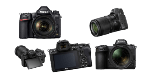 Vollformat DSLR und Systemkameras von Nikon