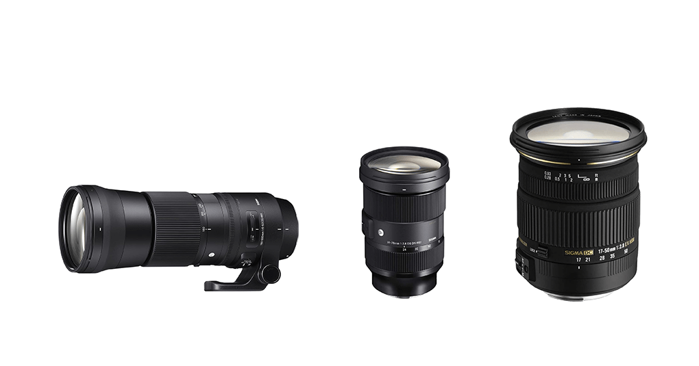 Sigma-Objektive für Canon DSLR und Systemkameras