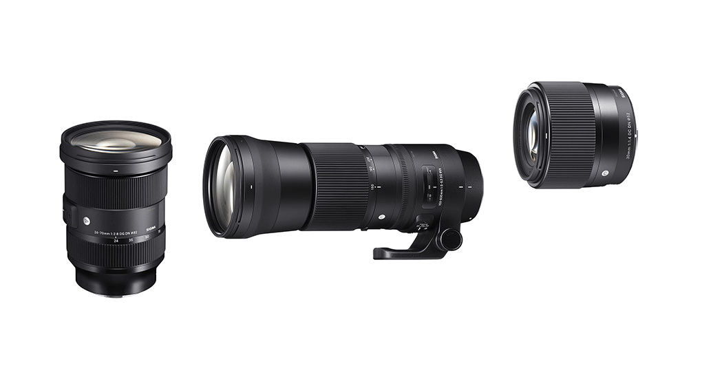 Sigma Objektive für Sony E-Mount Systemkameras