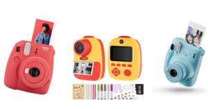 Sofortbildkameras für Kinder Titelbild