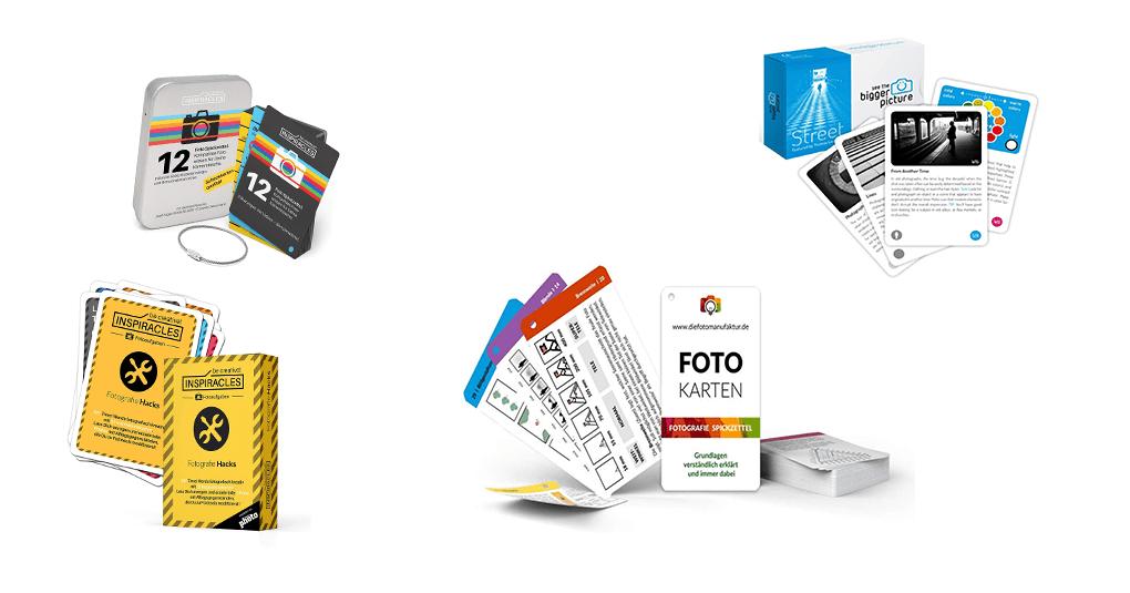 Spickzettel für Fotografen