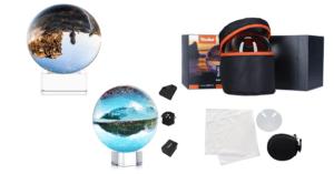 Fotokugeln Lensball aus Glas
