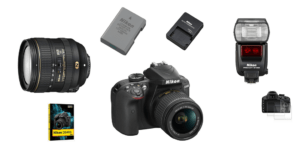 Nikon D3400 Objektive Zubehör