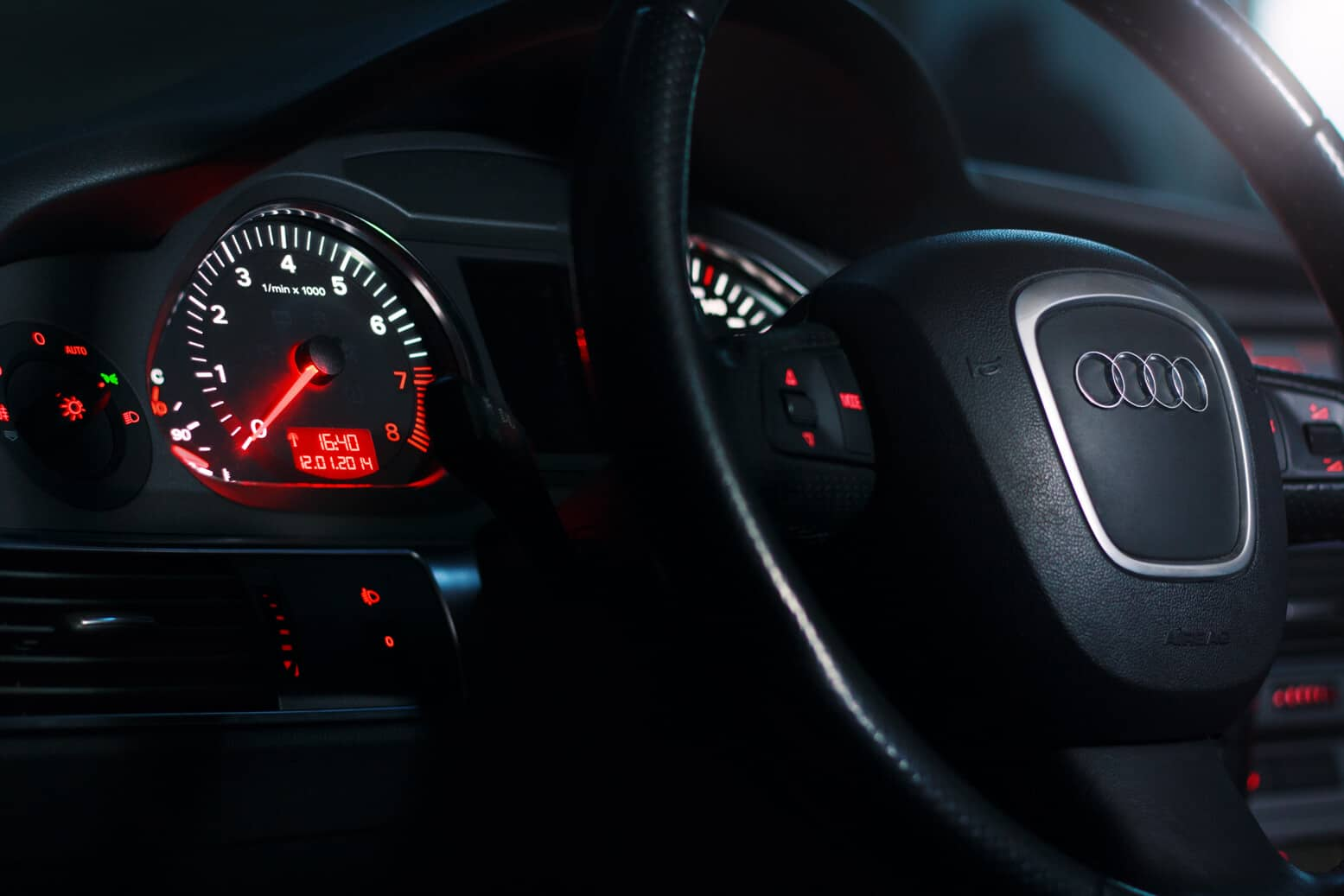 Erik Dräger Automotive Photography Audi A6 Interior Shot