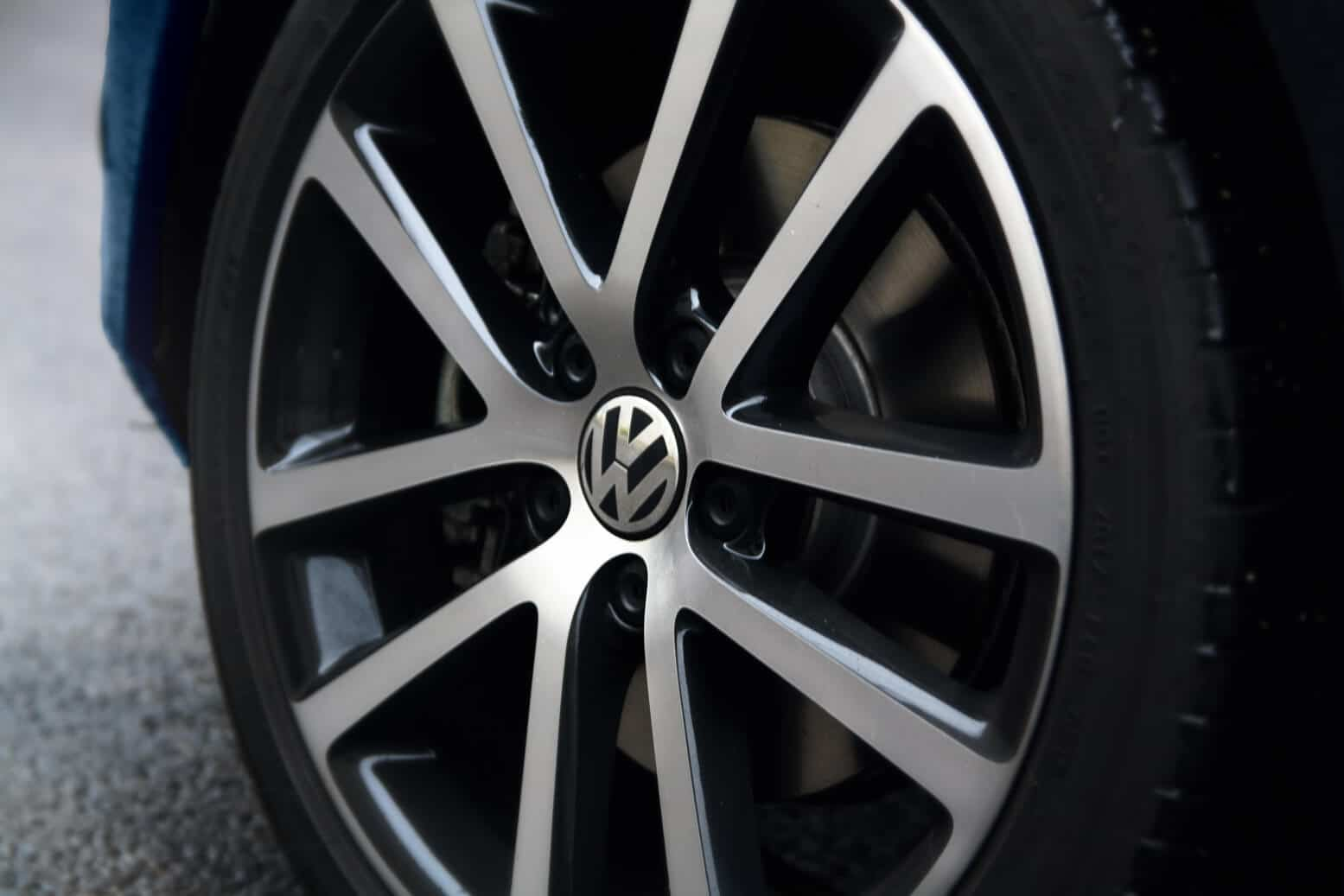 Volkswagen Golf Convertible Detailansicht Felge