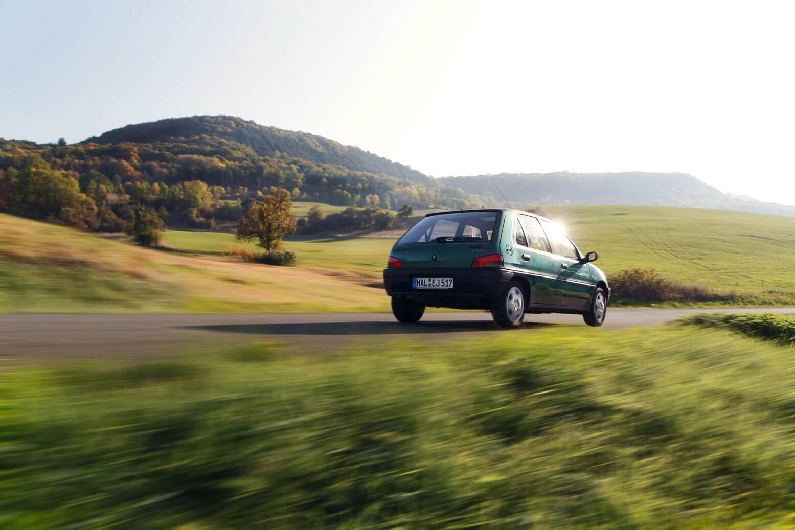 Peugeot 106 nähe Jena. Erik Draeger Photography