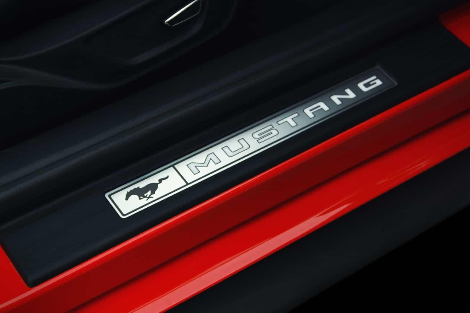 Ford Mustang Einstiegsleiste